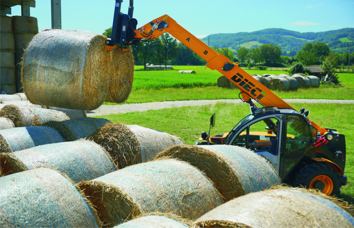 Telehandlers tick all the boxes for farm use