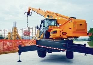 Telehandlers for construction | Webbline